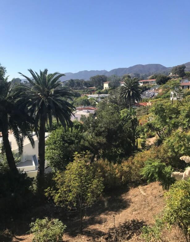 <strong>LYX:</strong> Gunilla har sendt inn dette bildet av utsikten fra sitt eget hus. Foto: Privat