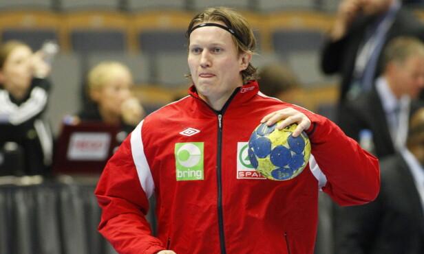 <strong>IMPONERENDE:</strong> Frank har gjennom en lang håndballkarriere imponert på håndballbanen. Foto: NTB Scanpix