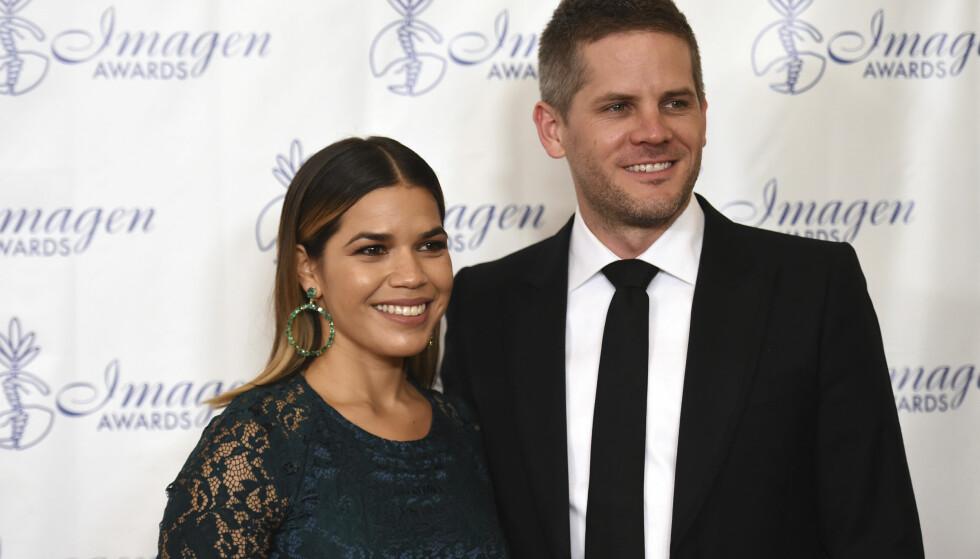 <strong>BLIR FORELDRE:</strong> America og Ryan venter sitt første barn sammen. Foto: INVISION