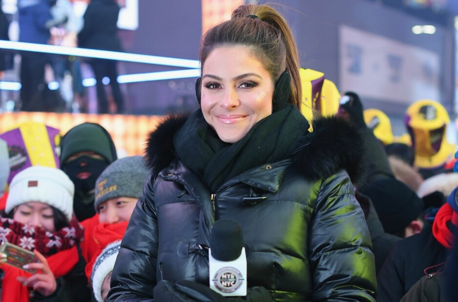 GIFTET SEG PÅ TV: Natt til 1. januar giftet TV-stjernen Maria Menounos seg med sin kjæreste gjennom 20 år, Keven Undergaro, under en livesending. Foto: NTB Scanpix.