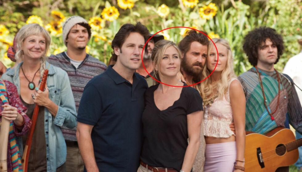 DEN GANG DA: Jennifer og Justin spilte sammen i filmen Wanderlust i 2011 og det var her det hele startet. Foto: FilmWeb