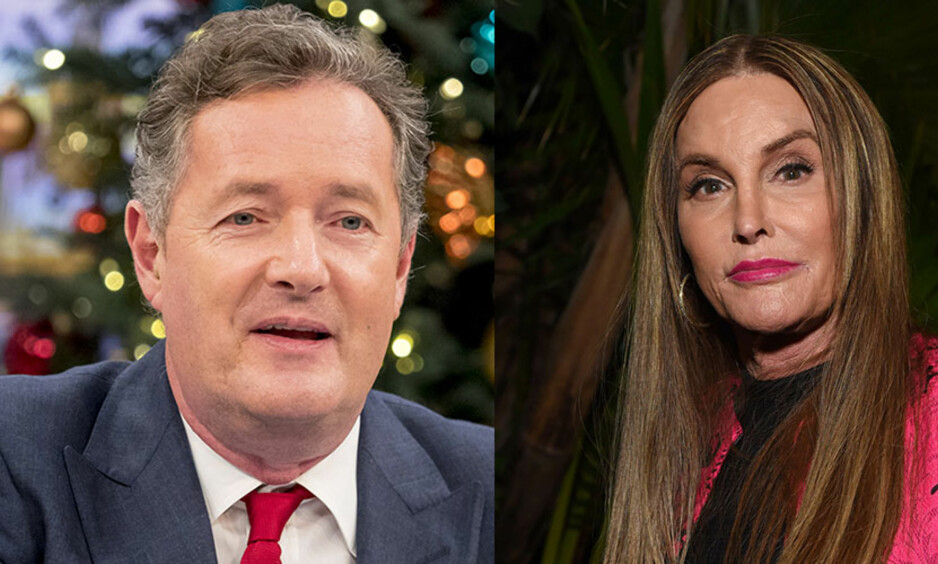 KRANGEL: Det ble krangling da den kjente journalisten og programlederen Piers Morgan intervjuet Caitlyn Jenner. Foto: NTB Scanpix