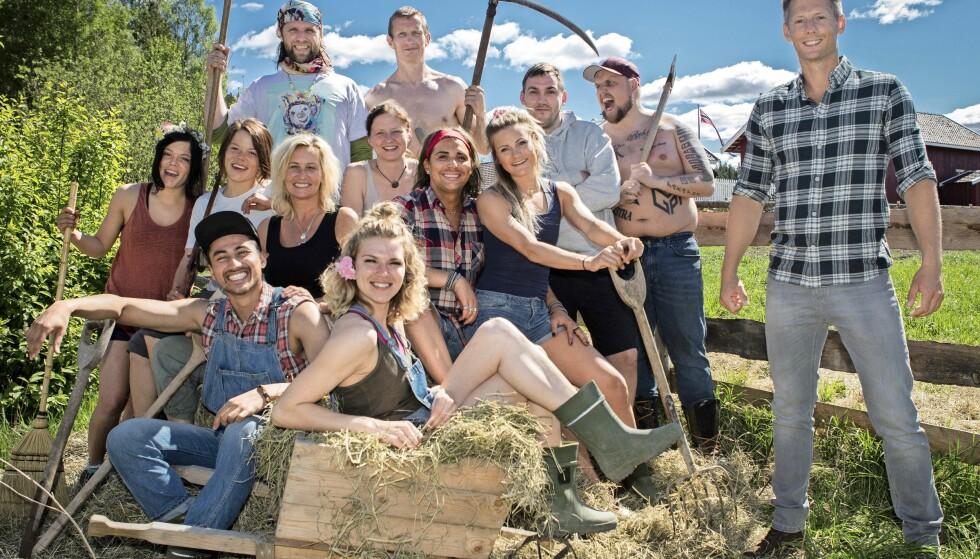 «FARMEN KJENDIS»: Stian er for tiden en av deltakerne i realityserien «Farmen kjendis» på TV 2. Foto: TV 2
