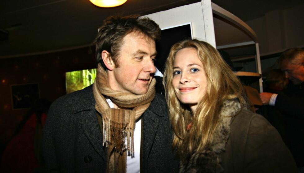 SKJØT GULLFUGLEN: Fredrik Skavlan og Maria Bonnevie er i dag samboere og har to barn sammen. Før de traff hverandre i 2002 sleit Skavlan med å finne fotfeste. Foto: Ole-Tommy Pedersen / Dagbladet