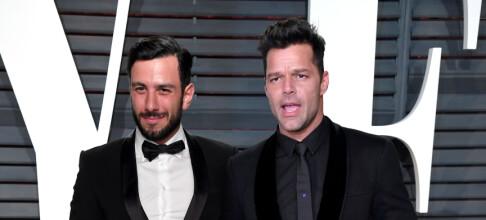 Ricky Martin har giftet seg i all hemmelighet