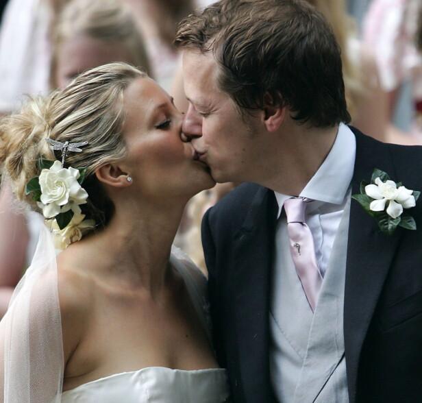 SKILLER LAG: Tom og Sara giftet seg i 2005, nå skal de skille lag etter tolv år som ektepar. Foto: NTB Scanpix