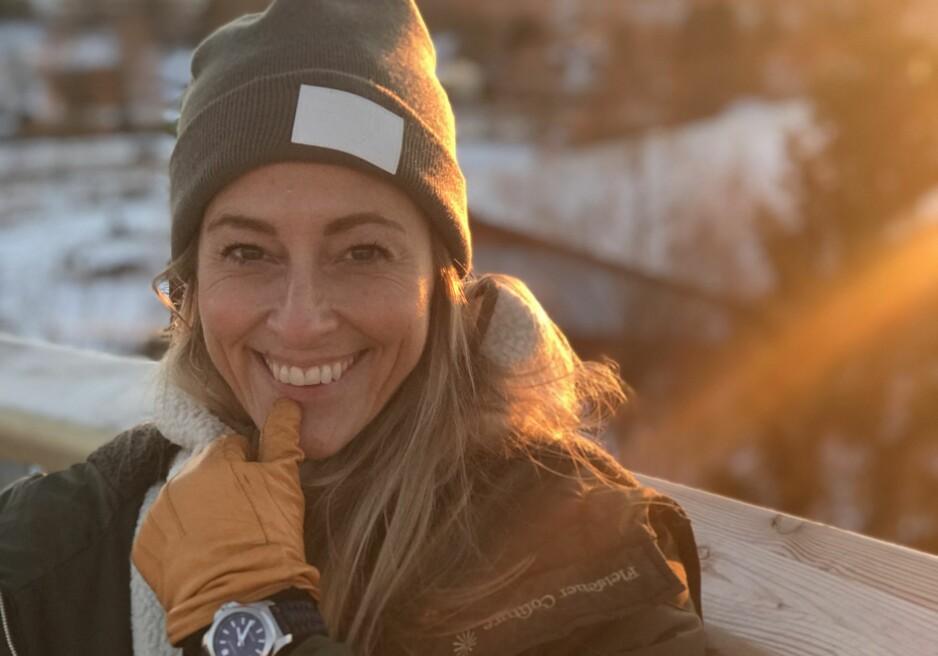 HYLLES FOR ÅPENHET: Programleder og TV3-profil Jannecke Weeden hylles for sin åpenhet rundt sin panikkangst. Foto: Privat