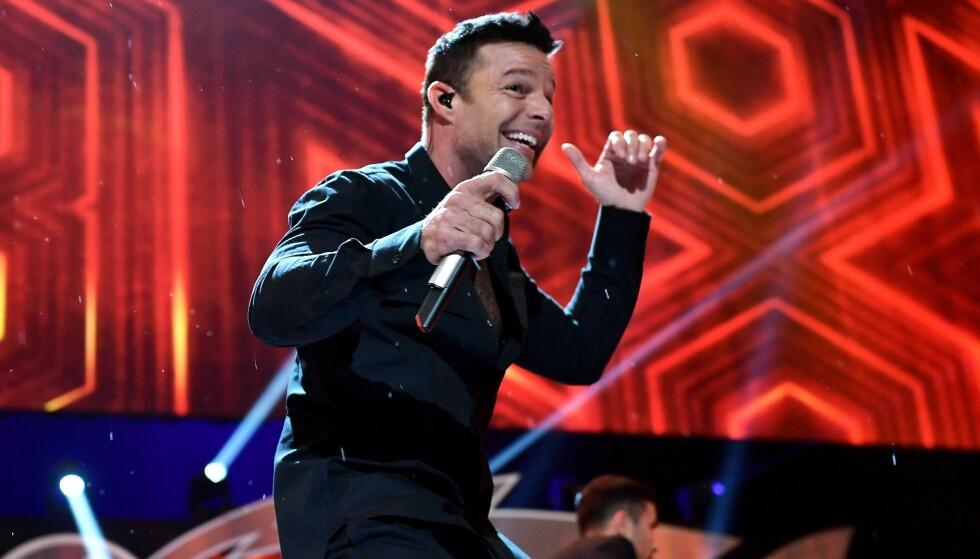 SUPERSTJERNE: Ricky Martin er en av verdens største latinosangere. Foto: Gustavo Caballero / Getty Images