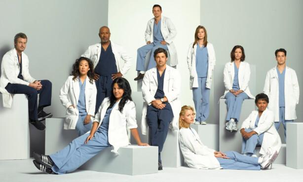 <strong>POPULÆR SERIE:</strong> «Grey's Anatomy» har rullet over tv-skjermene siden 2005. Foto: American Broadcasting Companies, Inc/ TV 2