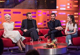 Liam Neeson til Sigrid: - Ikke glem å spise