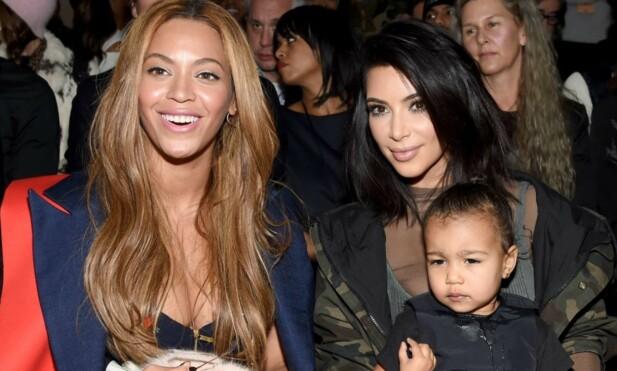 IKKE FAN AV REALITY: Beyoncé og Kim har ikke akkurat vært bestevenner siden dag én. Foto: NTB Scanpix