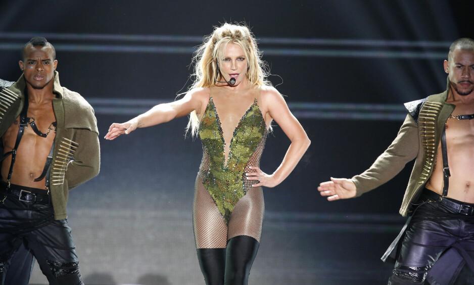 KOMMER TIL NORGE: Den amerikanske popartisten Britney Spears. Foto: NTB Scanpix