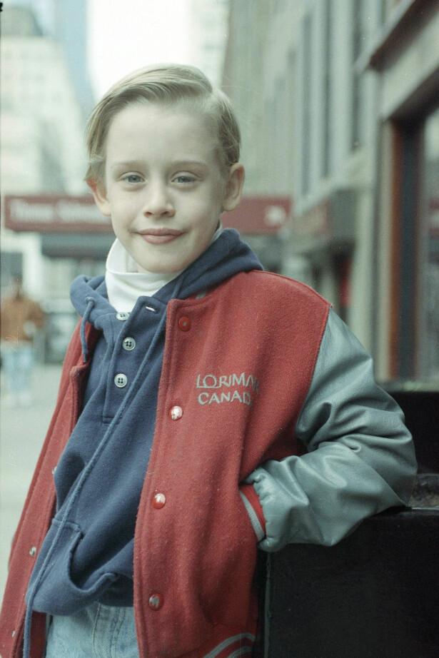 <strong>SØTNOS:</strong> Macaulay Culkin var ikke store gutten da han ble verdenskjent for sin rolle i «Hjemme Alene»-filmene. Bak fasaden foregikk det derimot et trøblete forhold med familien, hevder skuespilleren i dag. Foto: NTB scanpix