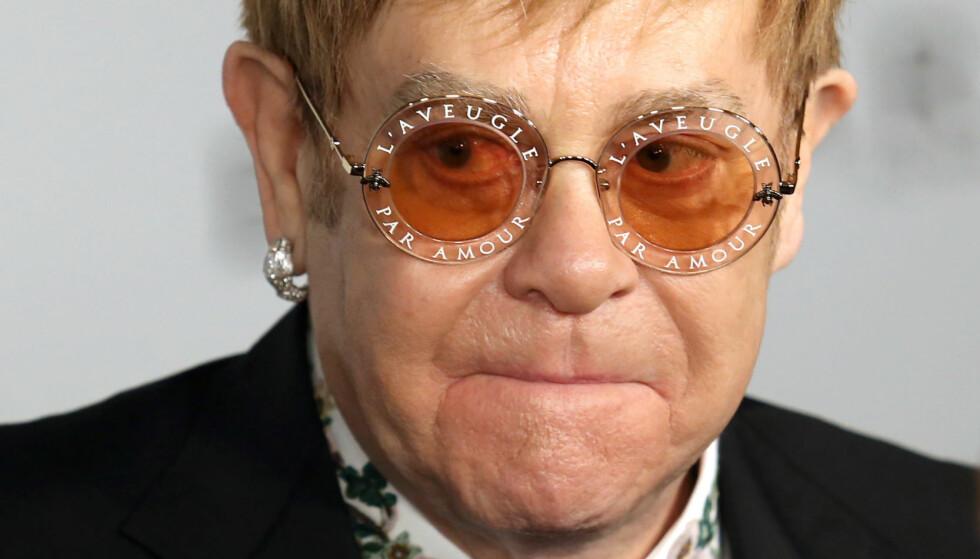GIR SEG: Det britiske popikonet Elton John skal gi seg som aktivt utøvende artist, ifølge Mirror. Foto: NTB scanpix