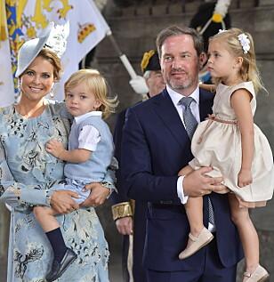 <strong>SNART BLIR DE FEM:</strong> Den svenske kongefamilien gleder seg til enda et medlem i mars. Foto: NTB Scanpix