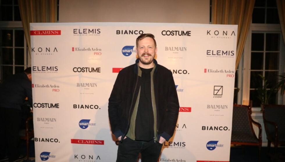 VITSEMAKER: Einar Tørnquist er nominert til best kledde mann, men bryr seg ikke så mye om det. Foto: Christian Roth Christensen / Dagbladet