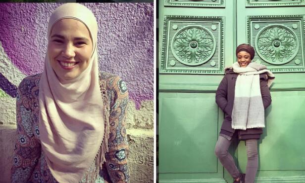 SKAM-SANA: F.V Iman Meskini og Assa Aïcha Sylla. Foto: Instagram/imanmeskini/assaaichasylla