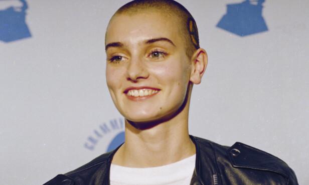 NEKTET: Artist Sinéad O'Connor overrasket da hun valgte å ikke ta imot prisen for beste alternative opptreden for 18 år siden. Foto: NTB scanpix