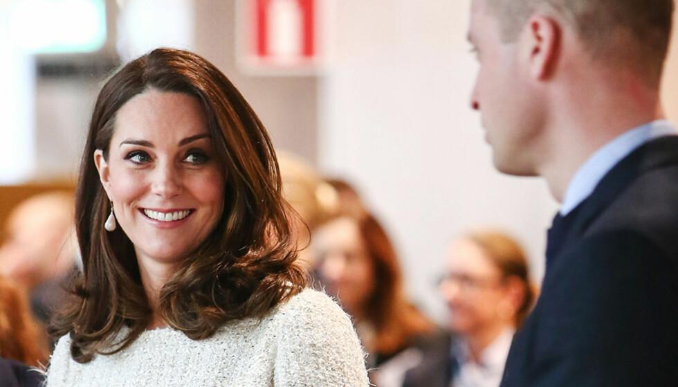 HEIA: Det er liksom et eller annet med hertugparet av Cambridge som bare fungerer sykt bra. Her er paret på besøk i Sverige tidligere denne uka. Foto: NTB scanpix