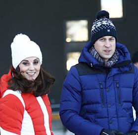 GODT KLEDD: Både Kate og William var godt kledd for anledningen. Foto: NTB Scanpix