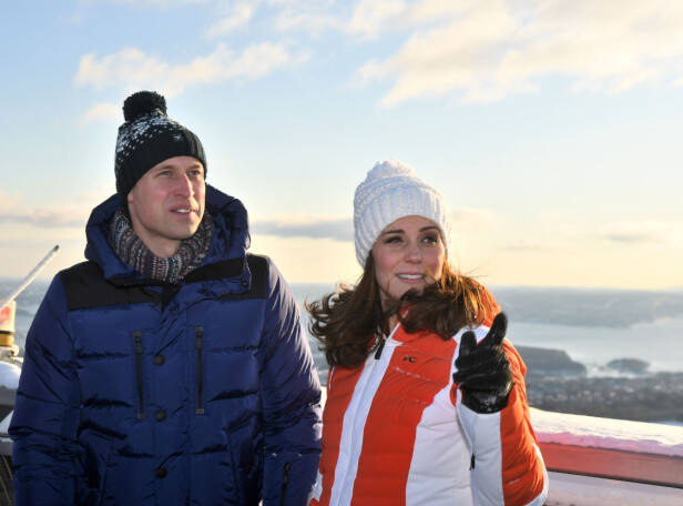 IDYLLISK: Kate og William fikk oppleve Oslo fra sin beste side fredag. Foto: NTB Scanpix