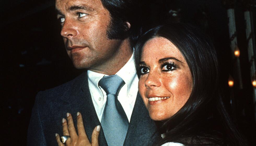 EKTEMANNEN: Hollywood-stjernen Natalie Wood var gift med skuespiller Robert Wagner fra 1972 og fram til hennes død i 1981. Foto: AP / NTB scanpix
