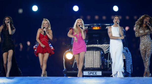 SISTE OPPTREDEN: I 2012 kunne fans verden over se Spice Girls opptre under OL i London. Foto: NTB Scanpix
