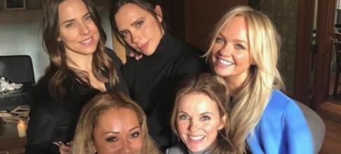 Endelig! Spice Girls er tilbake