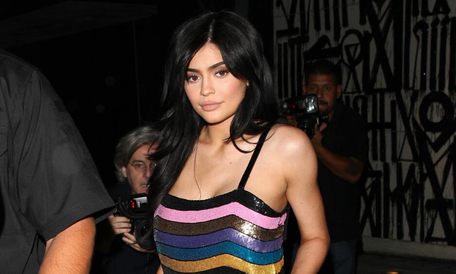 HAR BLITT MAMMA: Kylie Jenner bekrefter i dag på Instagram at hun har blitt mamma. Foto: NTB scanpix.