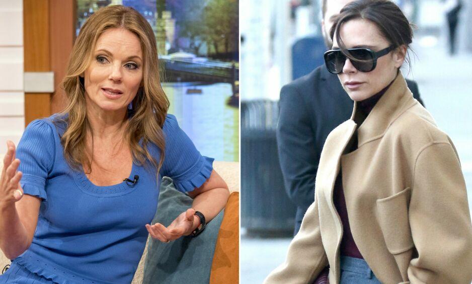 KONFLIKT: I etterkant av nyheten om en gjenforening med den populære jentegruppen «Spice Girls» kom ut, har det allerede oppstått uenigheter blant gruppemedlemmene Geri Halliwell (t.v) og Victoria Beckham (t.h). Foto: NTB Scanpix