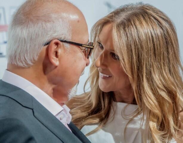 ELSKET HVERANDRE: Céline Dion og René Angélil elsket hverandre til døden skilte dem. Foto: Polaris/ NTB scanpix