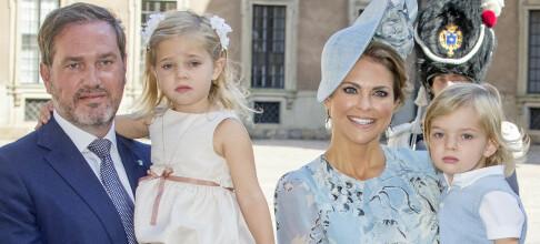 Se prinsesse Leonore og prins Nicolas' søte valentinshilsen
