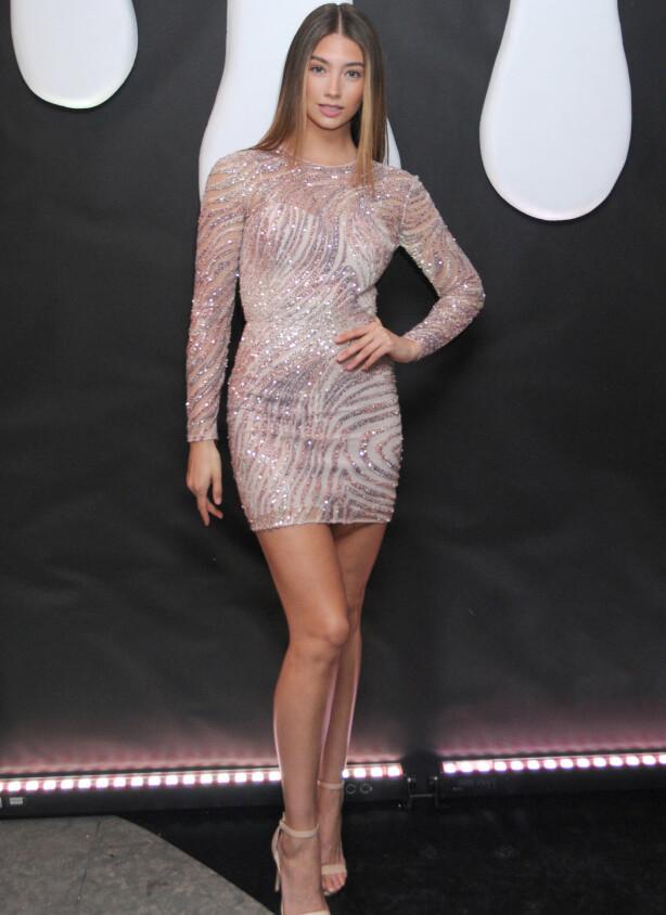 PÅ AUDITION: Lorena Rae skal ha deltatt på audition for Victoria's Secret etter å ha datet Leonardo. Foto. Splash News/ NTB scanpix