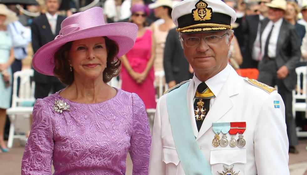 ENDRING I PLANENE: Men kong Carl Gustaf reiser fremdeles til Pyeongchang som planlagt. Foto: NTB scapix