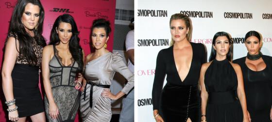 Kardashian-klanens ekstreme forvandling
