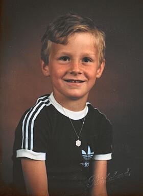 <strong>SATSET SEINERE:</strong> Syklist Kurt Asle Arvesen beskriver seg selv som et energisk og utålmodig barn. Foto: Privat