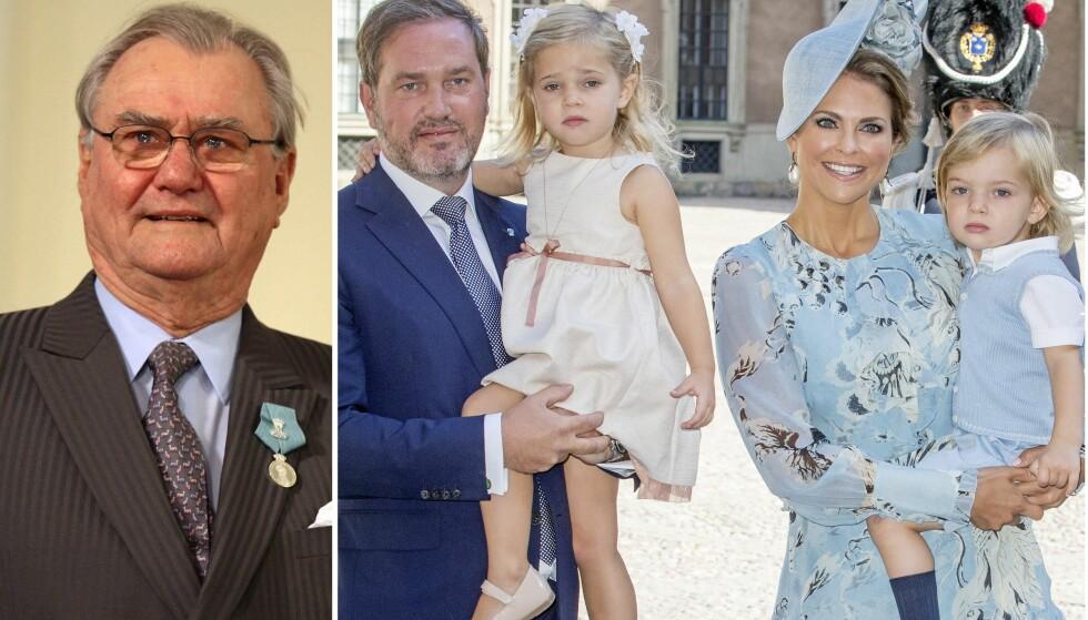 BISETTES: En uke etter dødsfallet skal prins Henrik begraves. Bisettelsen faller på samme dag som prinsesse Leonore fyller fire år. Foto: NTB Scanpix
