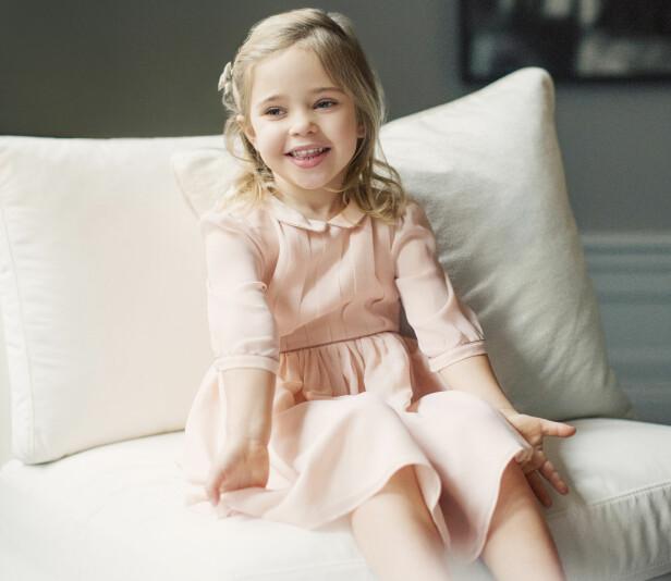 SOLSTRÅLE: Prinsesse Leonore fotografert i anledning sin fireårsdag. Foto: Erika Gerdemark/ Det svenske kongehuset