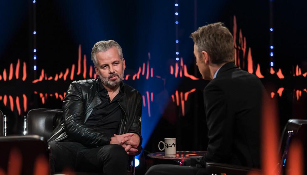 ÅPENHJERTIG: Ari Behn gjester kveldens episode av «Skavlan», der han blant annet åpner seg om bruddet med prinsesse Märtha Louise. Foto: NRK