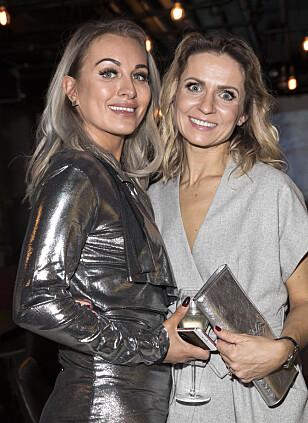 <strong>SAMMEN PÅ FEST:</strong> Carina Dahl og Nadya Khamitskaya under premierefesten til «71 grader nord». Foto: Andreas Fadum