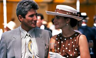 <strong>IKONISK:</strong> Richard Gere og Julia Roberts i «Pretty Woman» i 1990. Foto: NTB scanpix