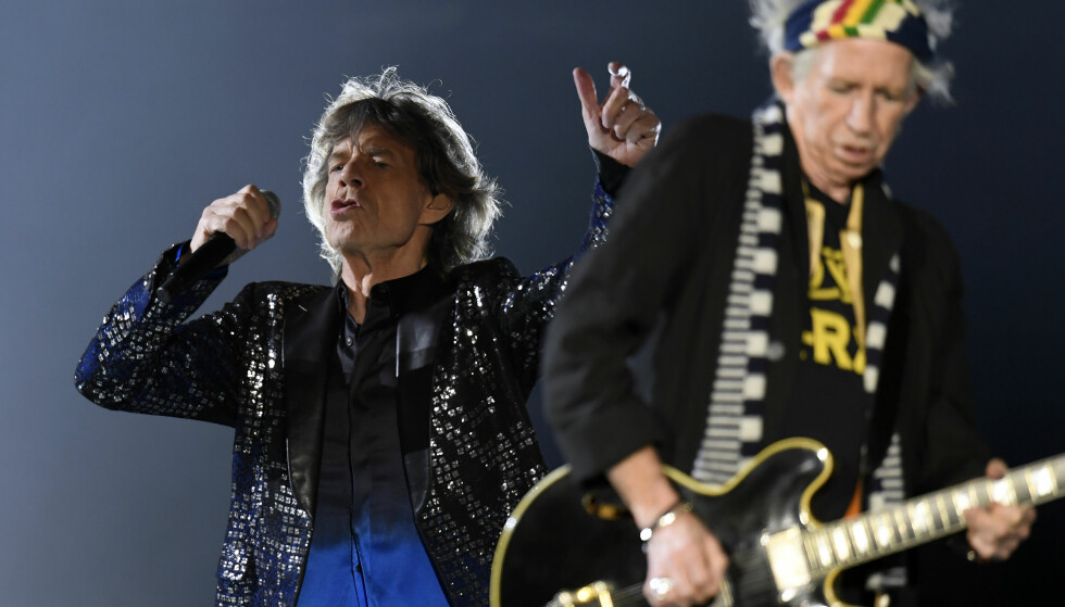 KRANGLEFANTER: Mick Jagger og Keith Richards har jobbet sammen siden starten av 1960-tallet, men krangler fortsatt. Foto: NTB scanpix
