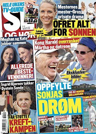 I SALG NÅ: Tirsdagens utgave av Se og Hør.