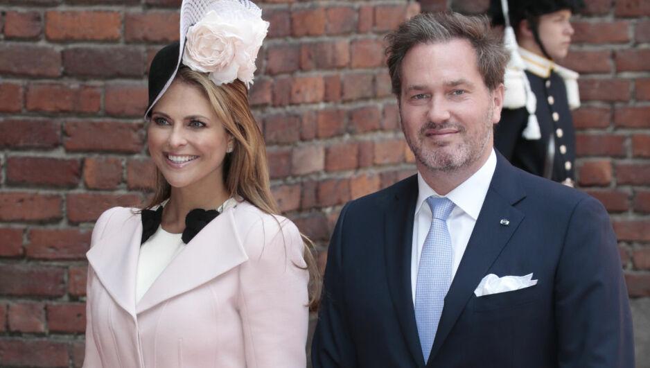 SNART TREBARNSFORELDRE: Ankomsten til prinsesse Madeleine og Chris O'Neills tredje barn er rett rundt hjørnet. Men hva skal barnet hete? Foto: Lise Åserud / NTB scanpix