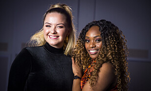 KJEMPER OM EUROVISION-PLASS: Stella Mwangi og Alexandra Rotan er blant artistene til årets nasjonale Melodi Grand Prix. Foto: Heiko Junge / NTB Scanpix