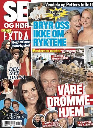 LES MER: Se og Hør Extra er i salg nå.