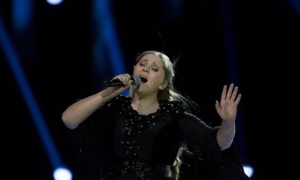 <strong>IMPONERENDE:</strong> Stemningen var til å ta og føle på under Rebeccas opptreden. Foto: Anita Arntzen / Dagbladet