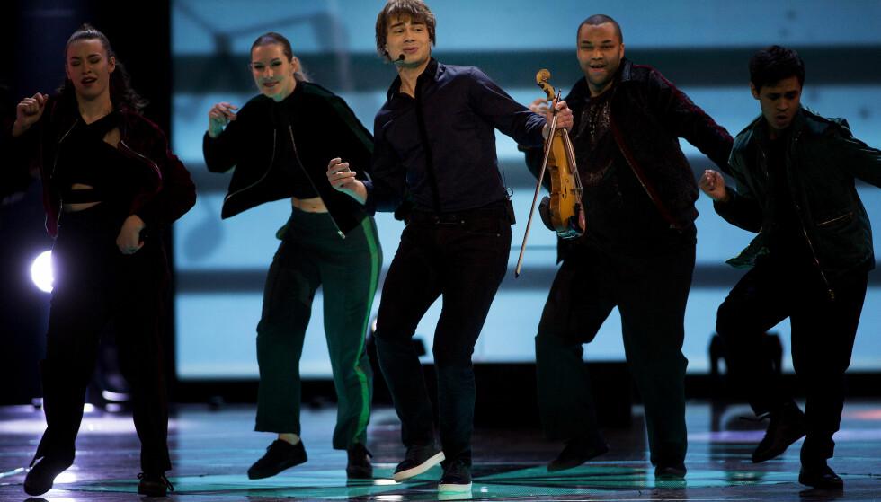 FINALIST: Alexander Rybak er en av artistene som gikk videre til superfinalen. Foto: Anita Arntzen