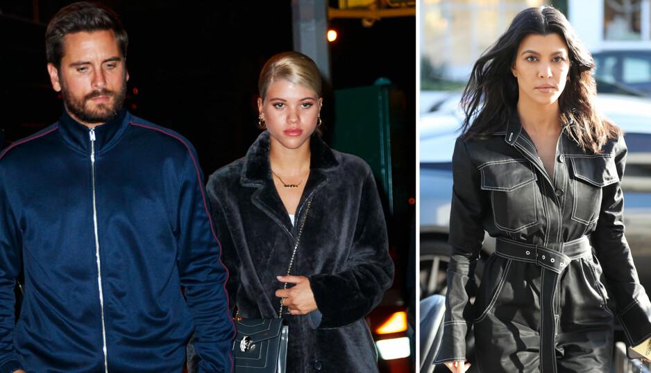 <strong>TRØBBEL:</strong> Scott Disick og Sofia Richie har vært sammen de siste månedene, men nå skal Scotts tidligere forhold med Kourtney Kardashian ha skapt trøbbel i forholdet. Foto: NTB scanpix