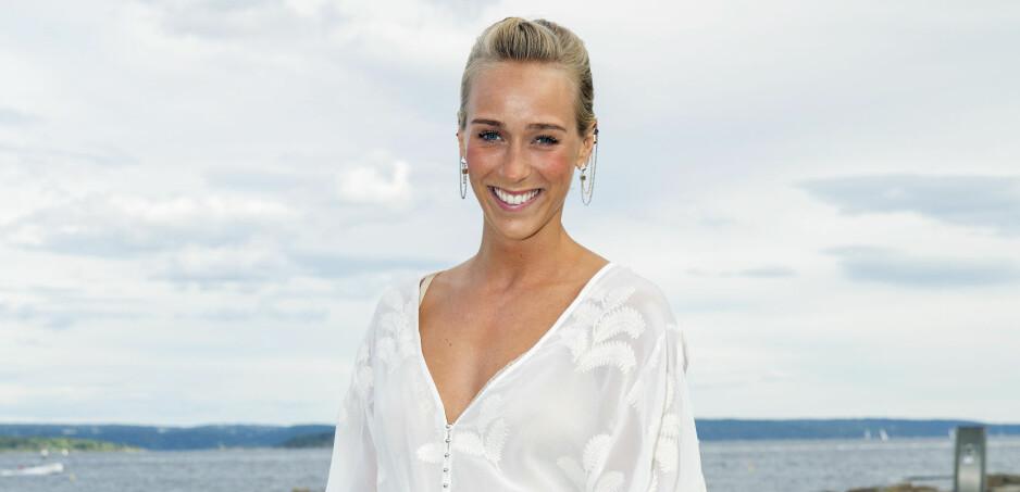 GLEDER SEG: TV 2-programleder Katarina Flatland ser frem til bryllupsdagen om drøye tre måneder, men er redd for én ting. Foto: Espen Solli/ Se og Hør